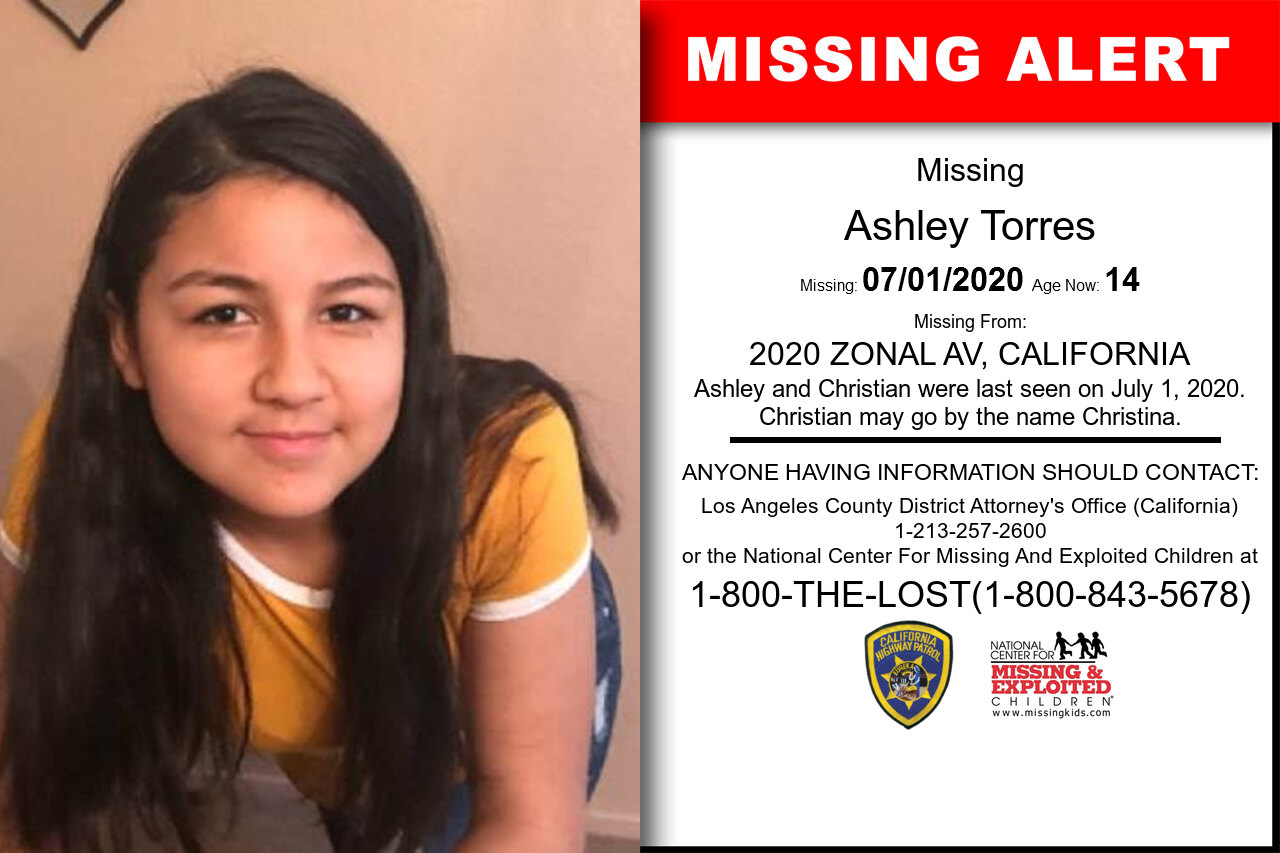 Ashley_Torres missing in California
