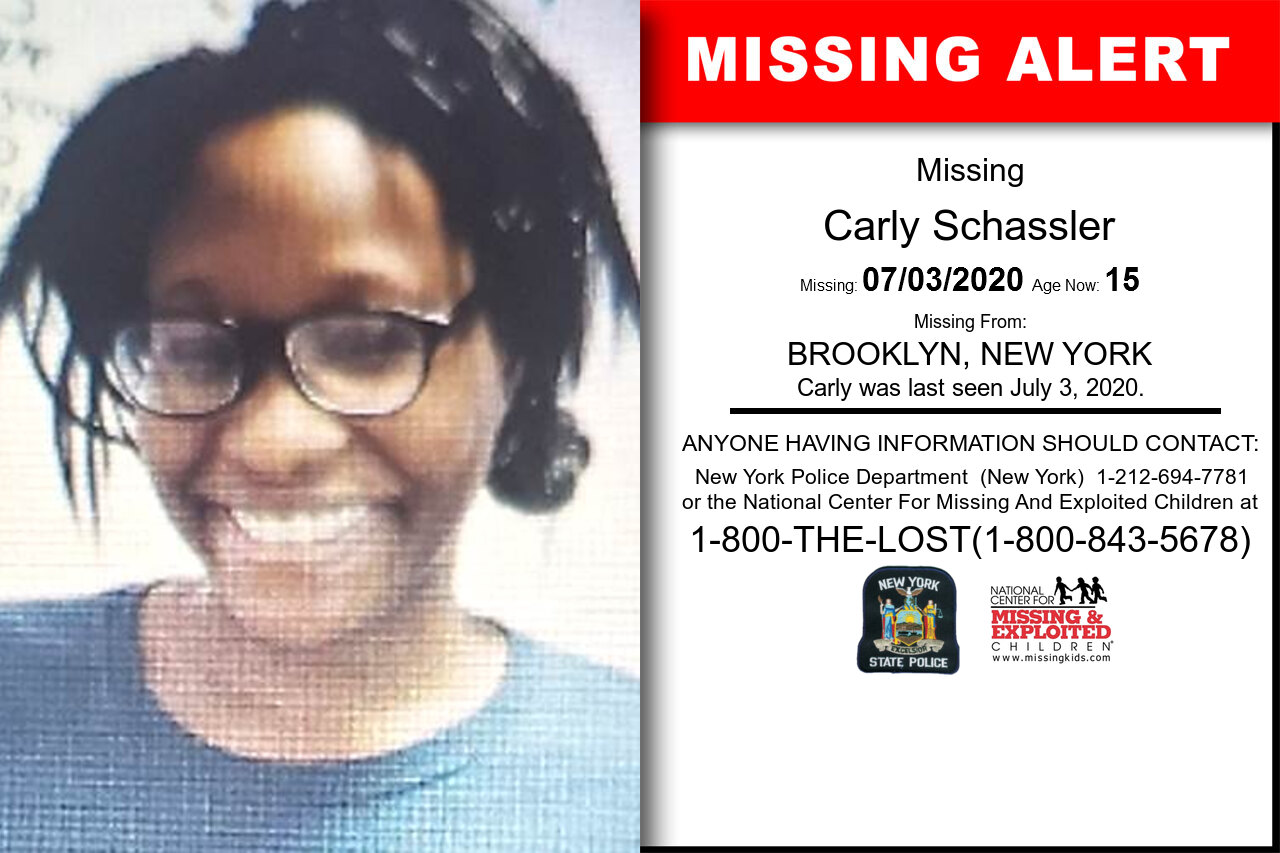 Carly_Schassler missing in New_York