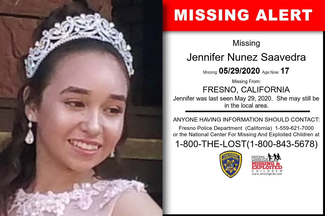 Jennifer_Nunez_Saavedra missing in California