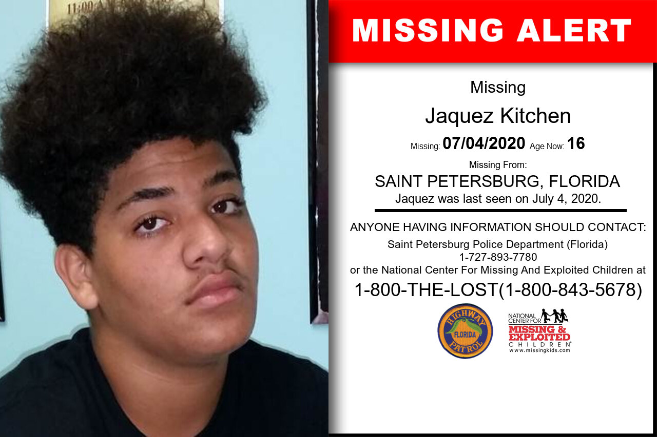 Jaquez_Kitchen missing in Florida