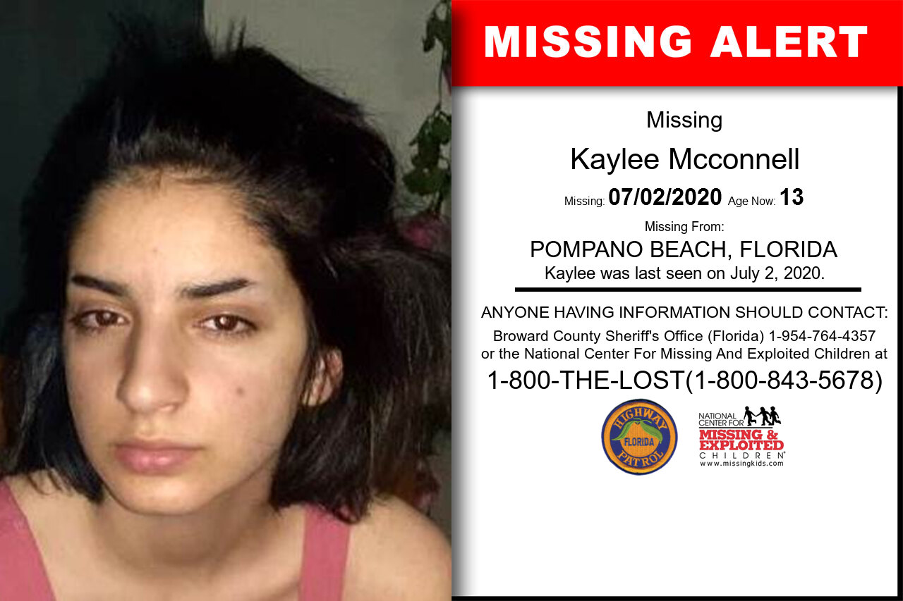 Kaylee_Mcconnell missing in Florida