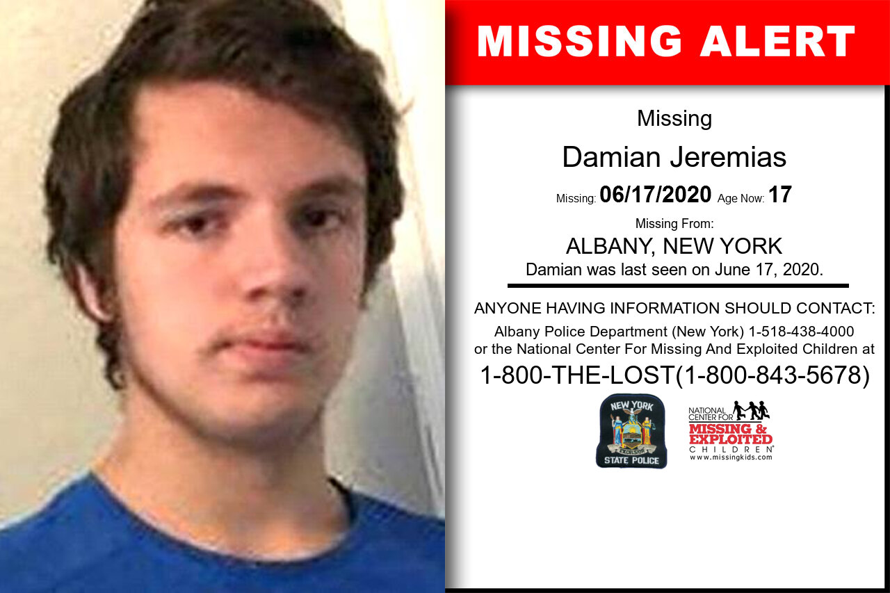 Damian_Jeremias missing in New_York