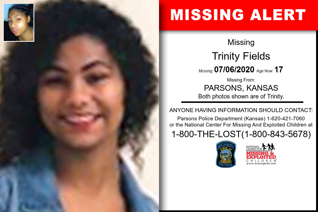 Trinity_Fields missing in Kansas
