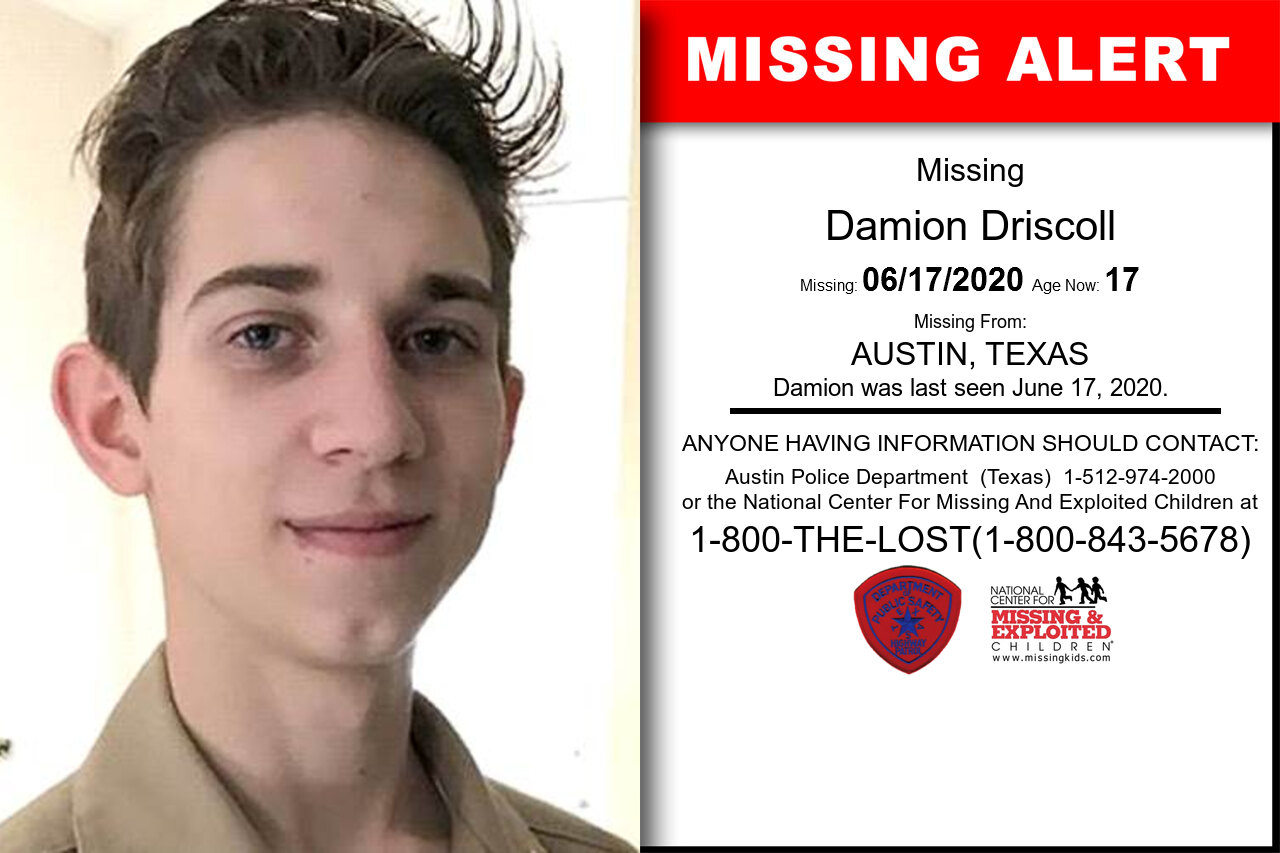 Damion_Driscoll missing in Texas