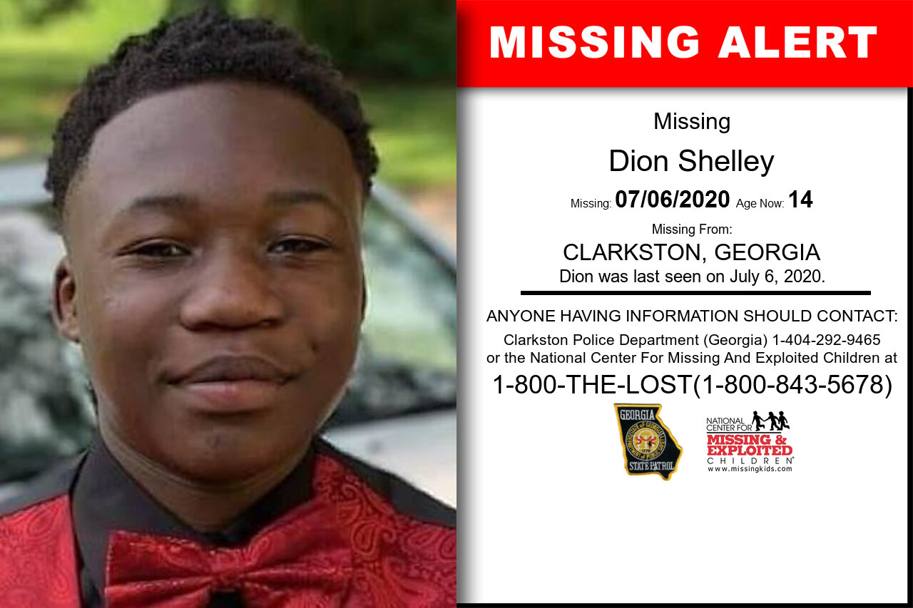Dion_Shelley missing in Georgia