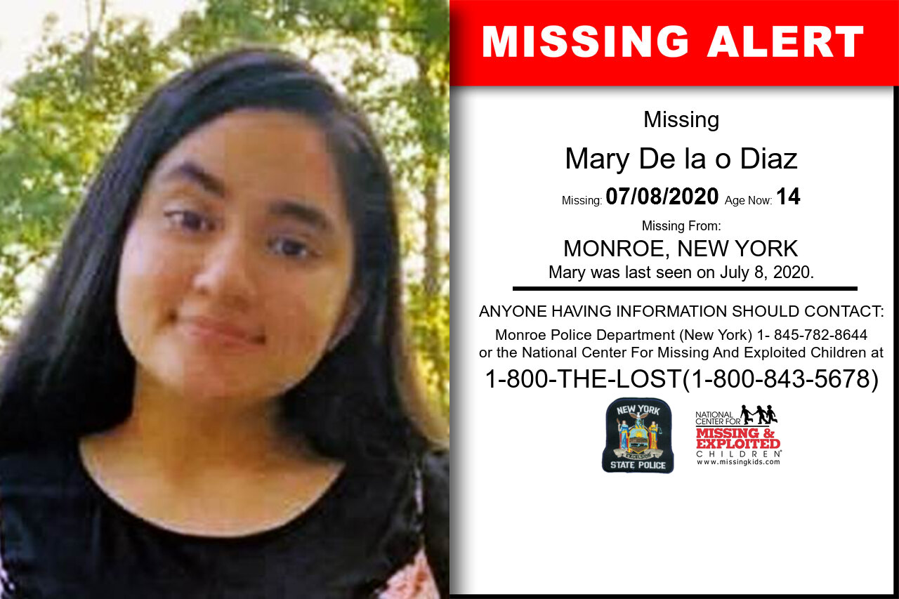 Mary_De_la_o_Diaz missing in New_York