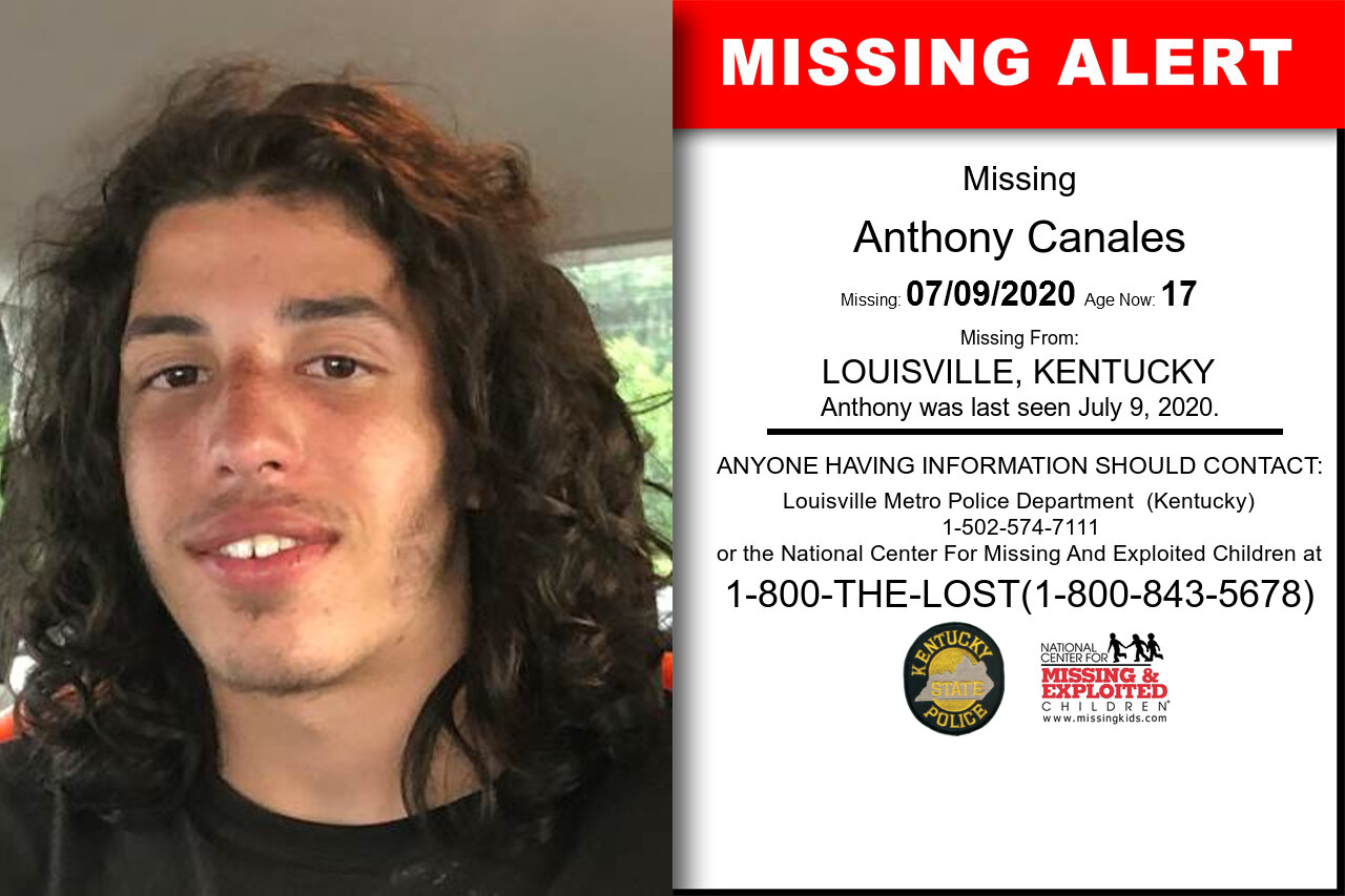 Anthony_Canales missing in Kentucky