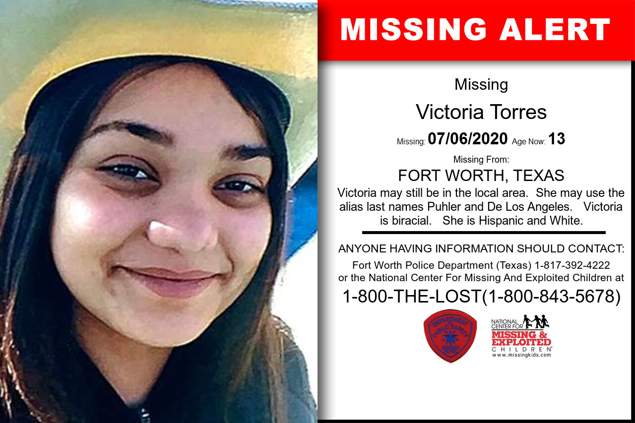 Victoria_Torres missing in Texas