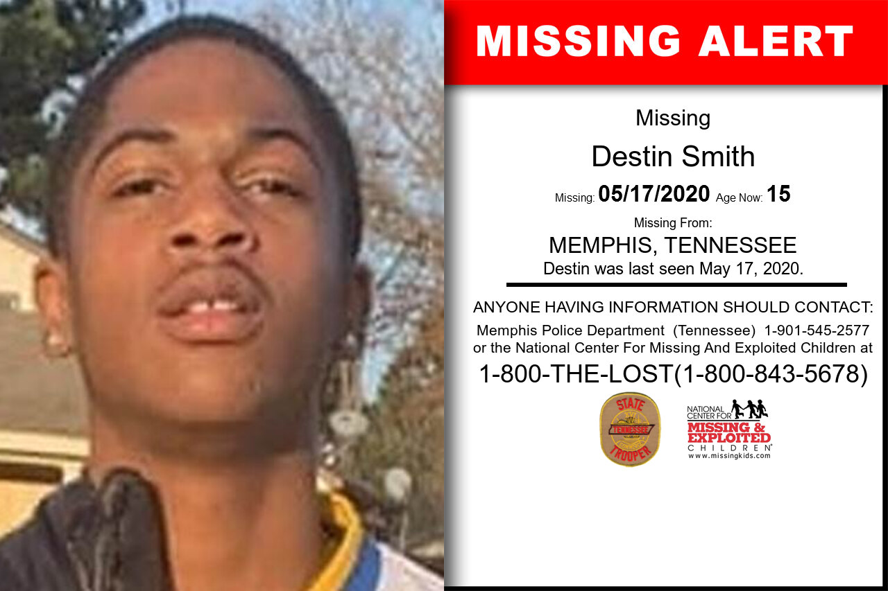 Destin_Smith missing in Tennessee