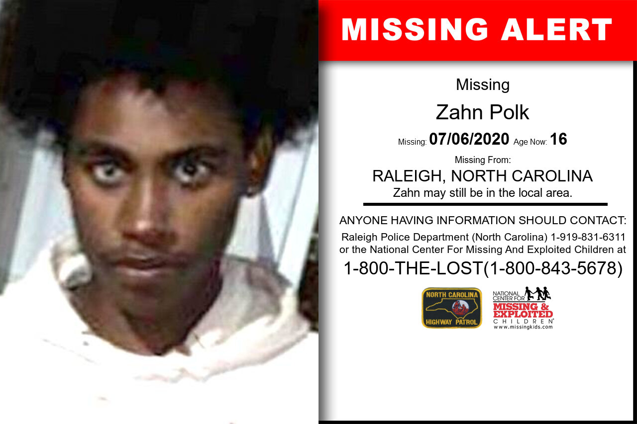 Zahn_Polk missing in North_Carolina