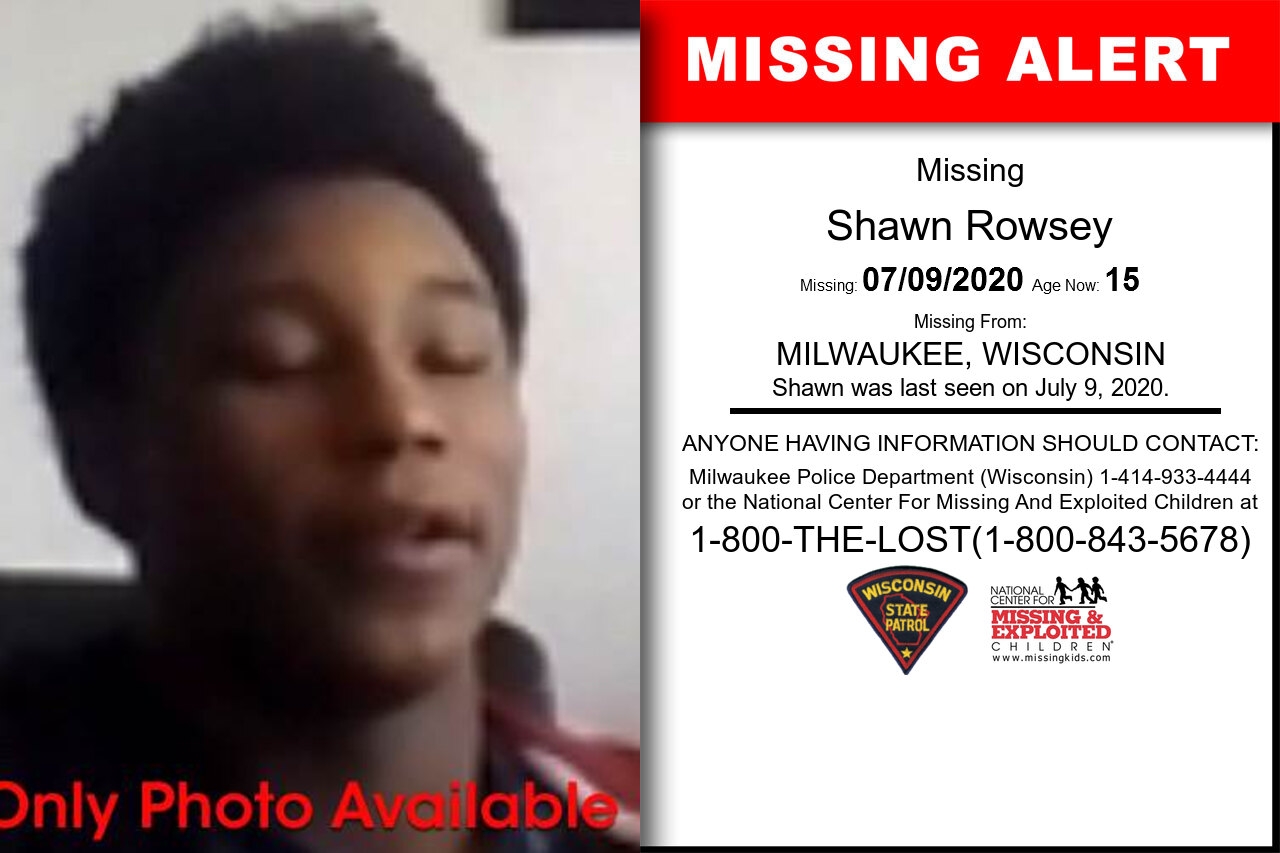 Shawn_Rowsey missing in Wisconsin