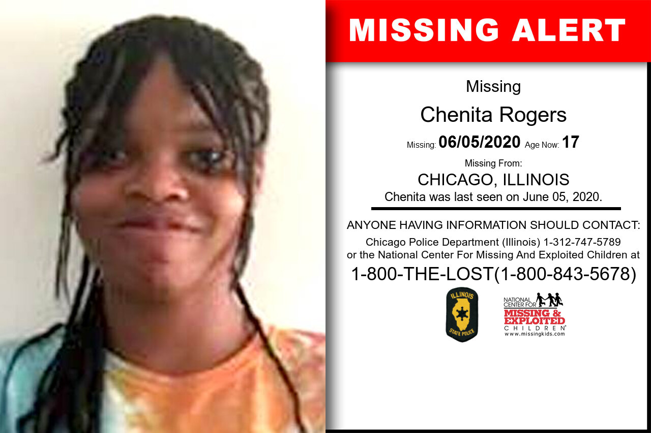 Chenita_Rogers missing in Illinois