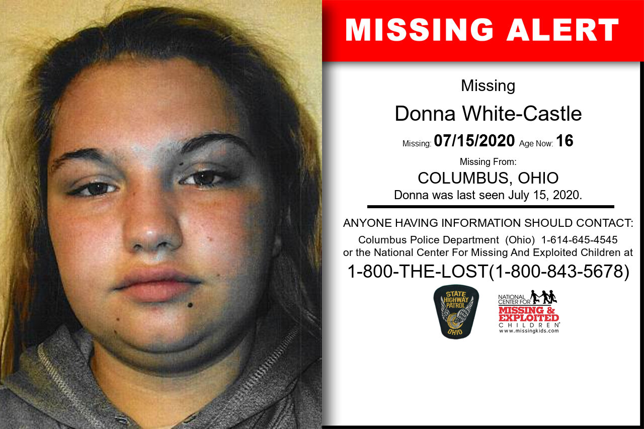 Donna_White-Castle missing in Ohio
