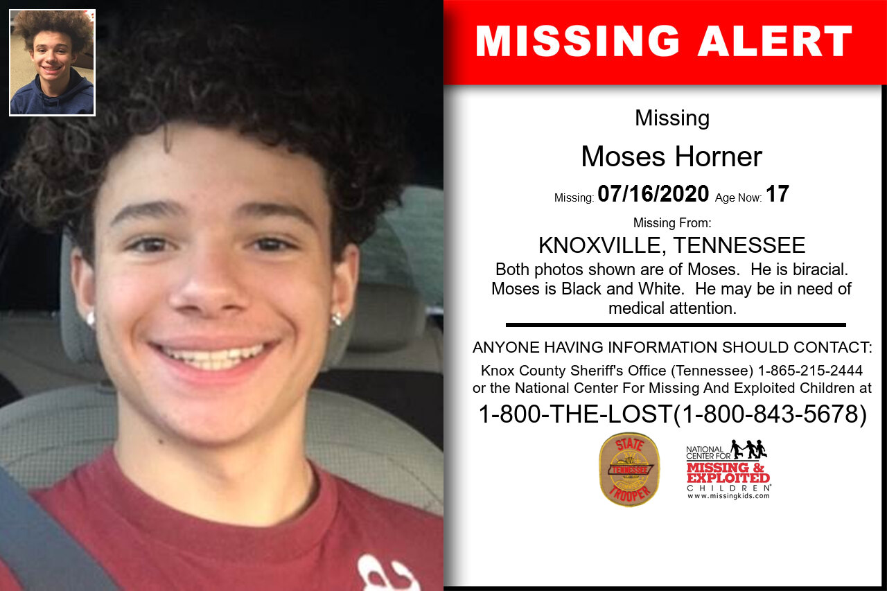 Moses_Horner missing in Tennessee