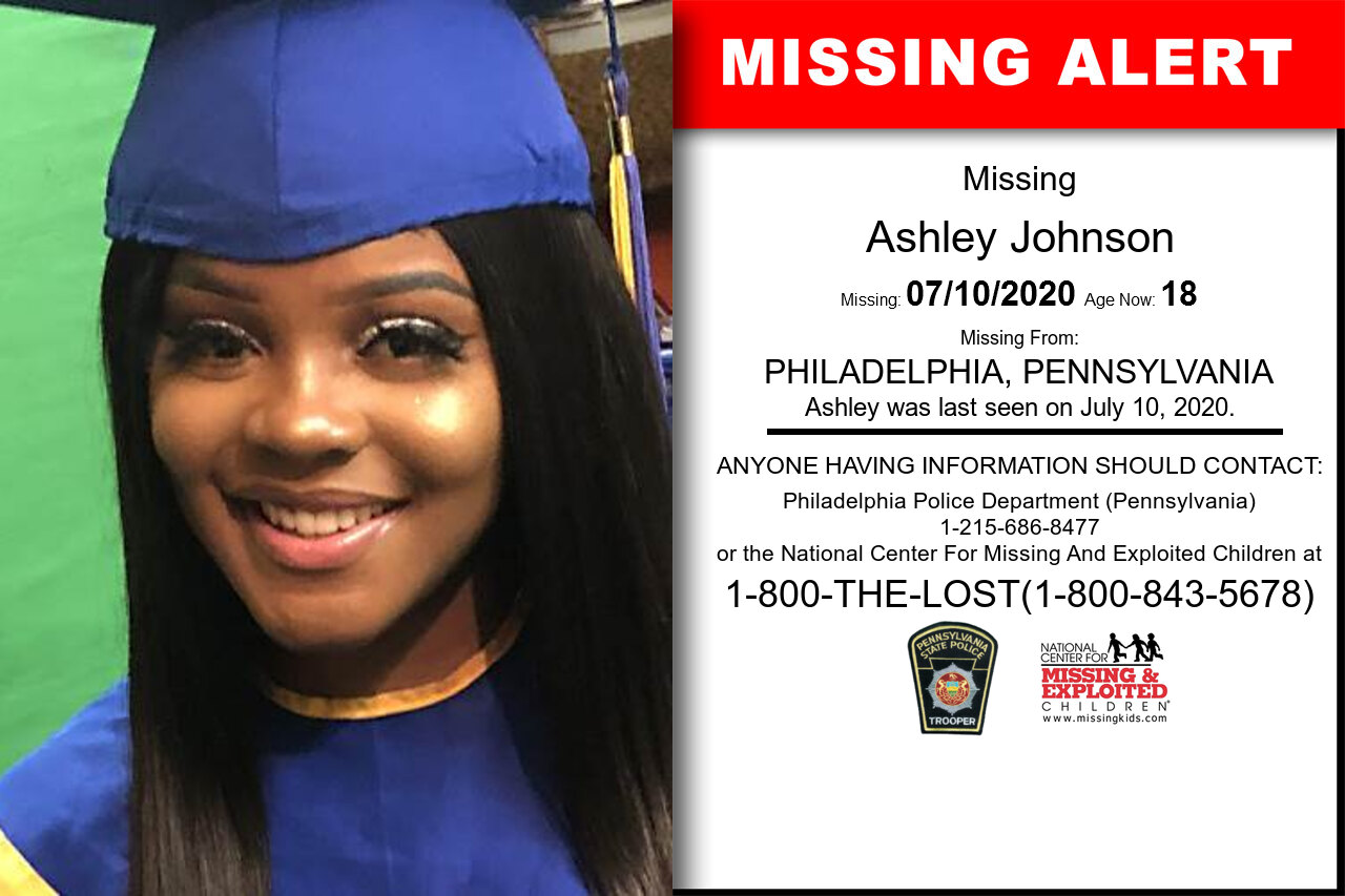 Ashley_Johnson missing in Pennsylvania