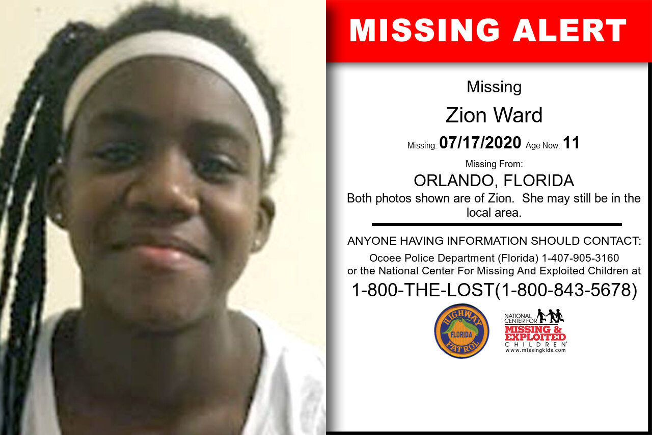 Zion_Ward missing in Florida