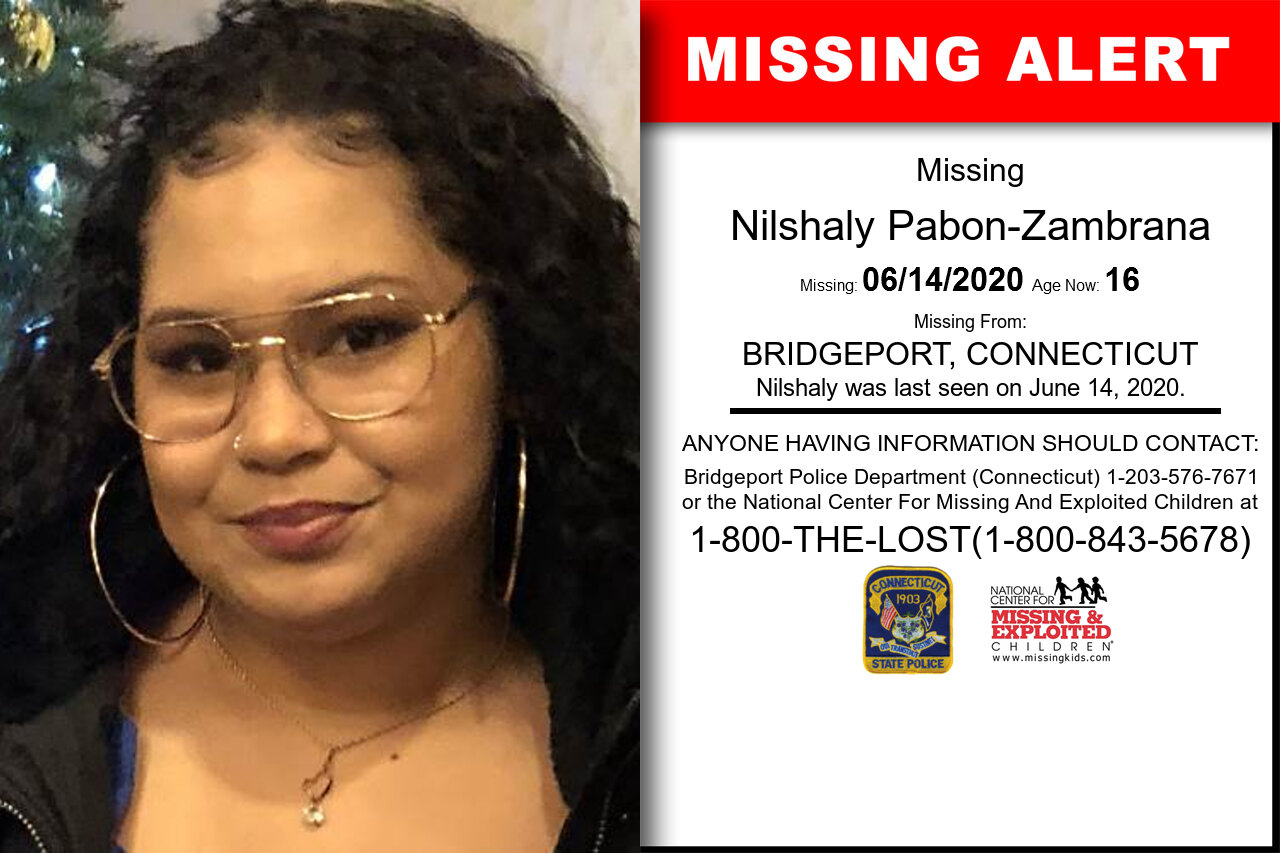 Nilshaly_Pabon-Zambrana missing in Connecticut