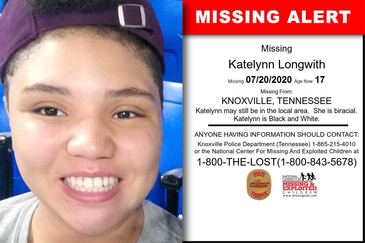 Katelynn_Longwith missing in Tennessee