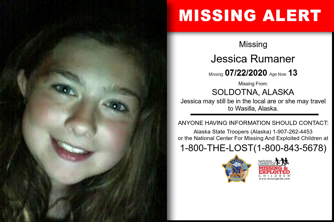 Jessica_Rumaner missing in Alaska