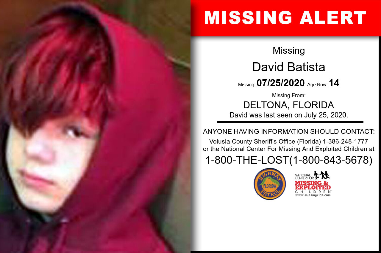 David_Batista missing in Florida
