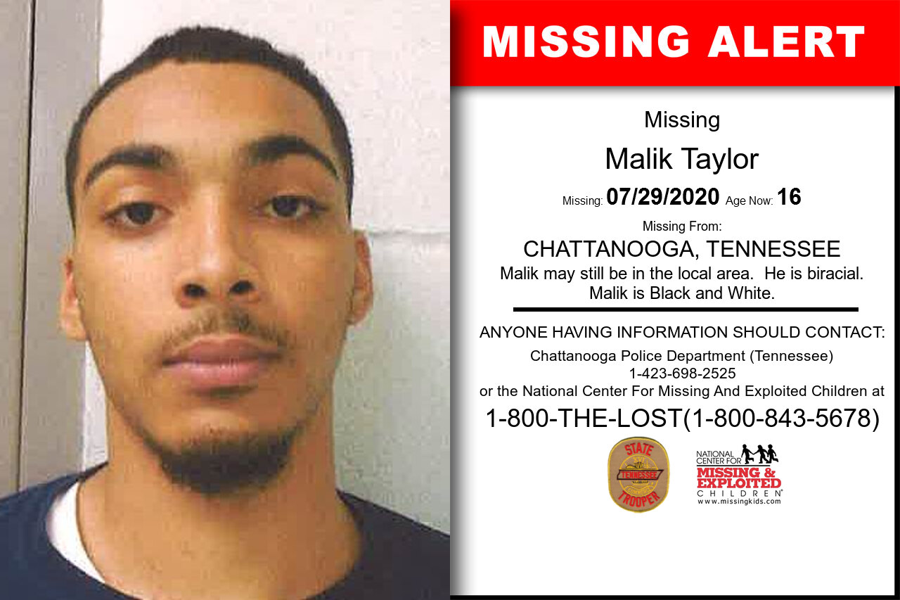 Malik_Taylor missing in Tennessee