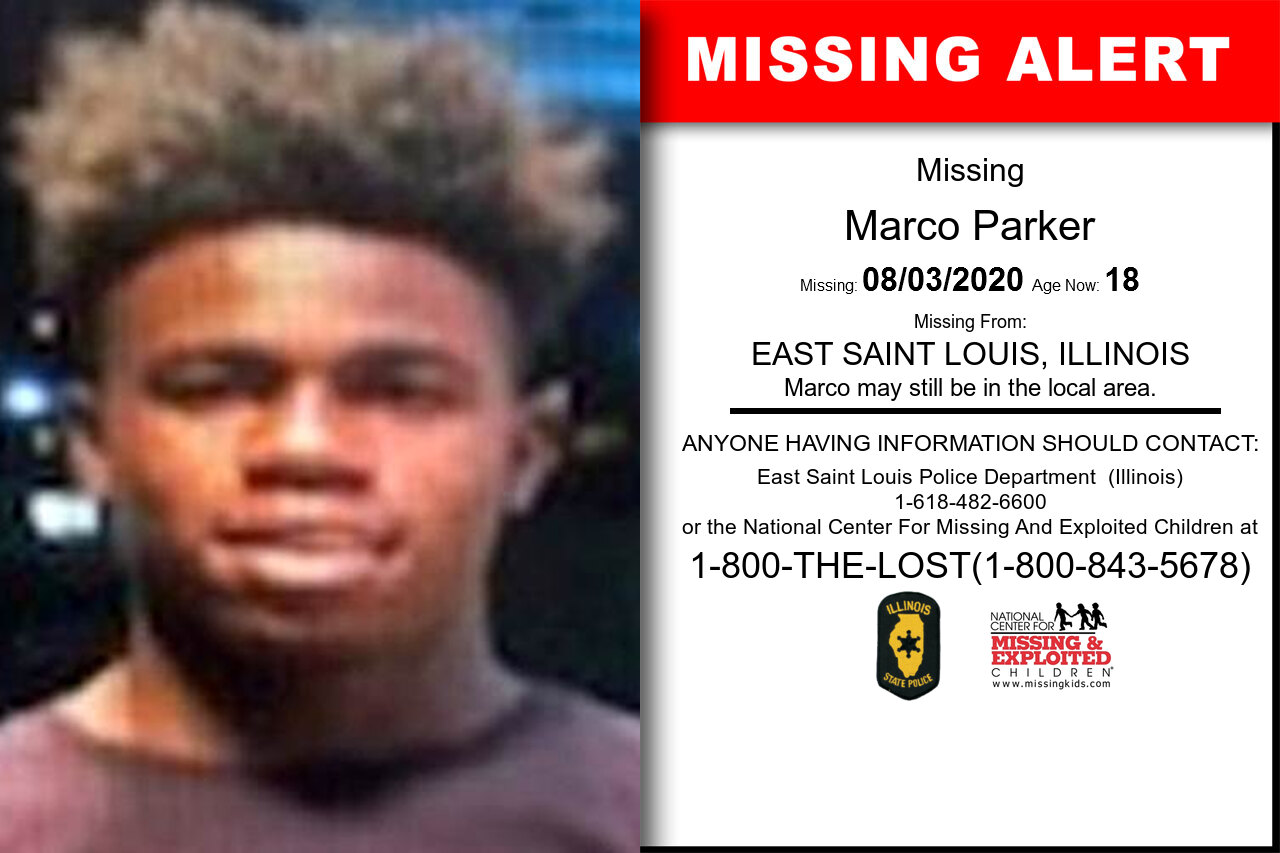 Marco_Parker missing in Illinois