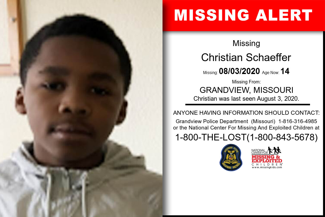Christian_Schaeffer missing in Missouri