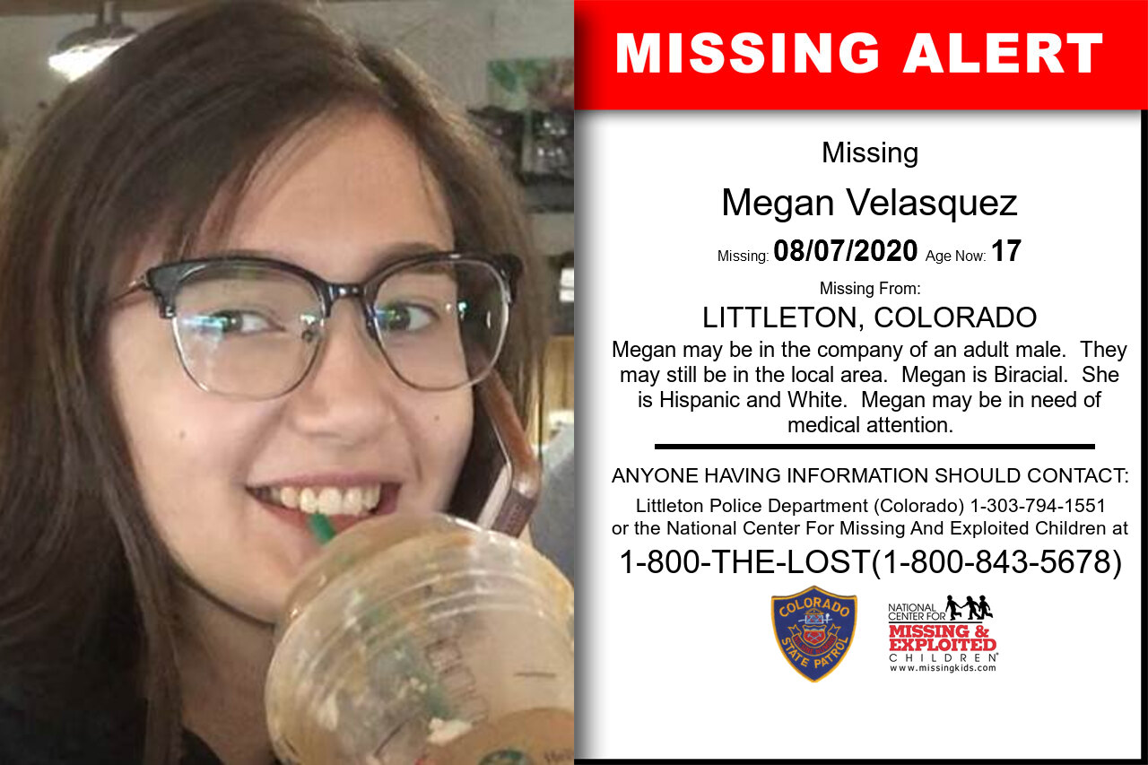 Megan_Velasquez missing in Colorado