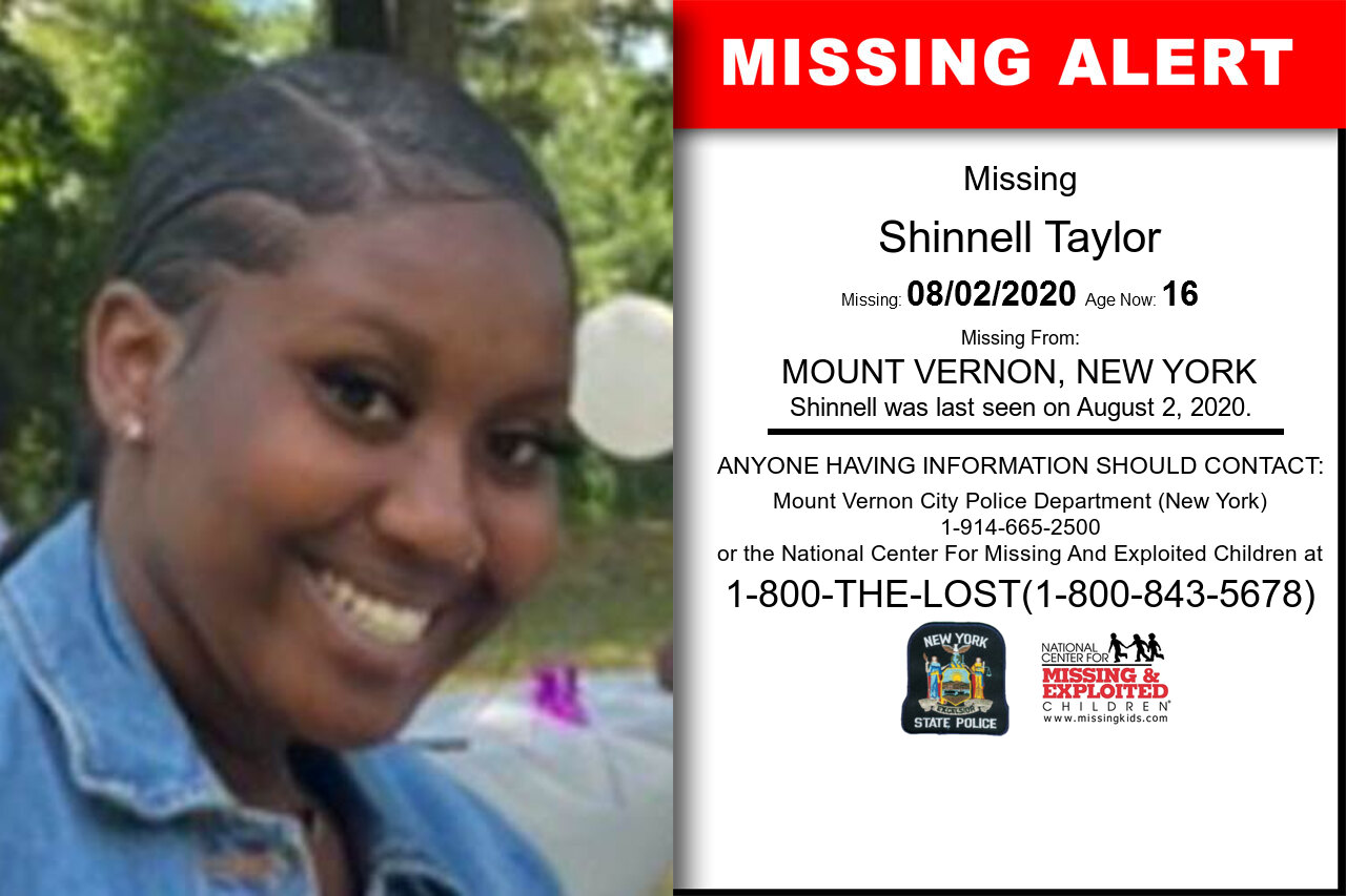 Shinnell_Taylor missing in New_York