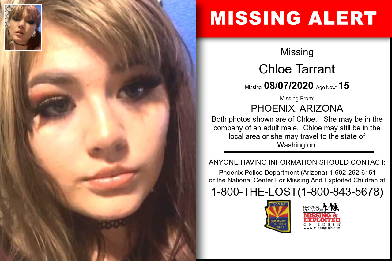 Chloe_Tarrant missing in Arizona