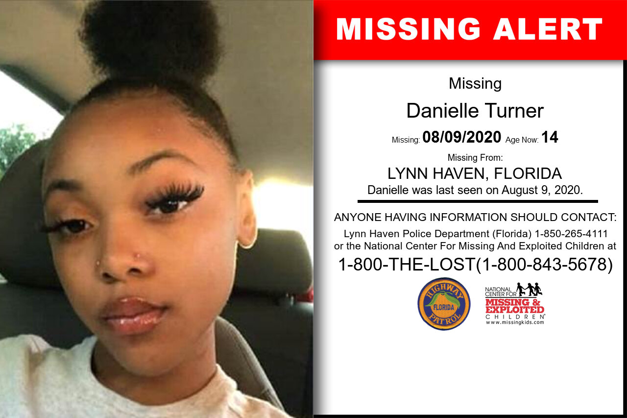 Danielle_Turner missing in Florida