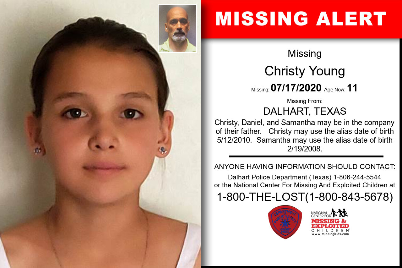 Christy_Young missing in Texas