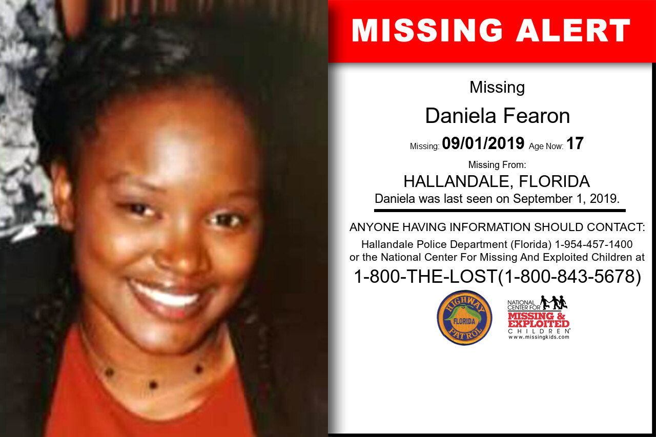Daniela_Fearon missing in Florida