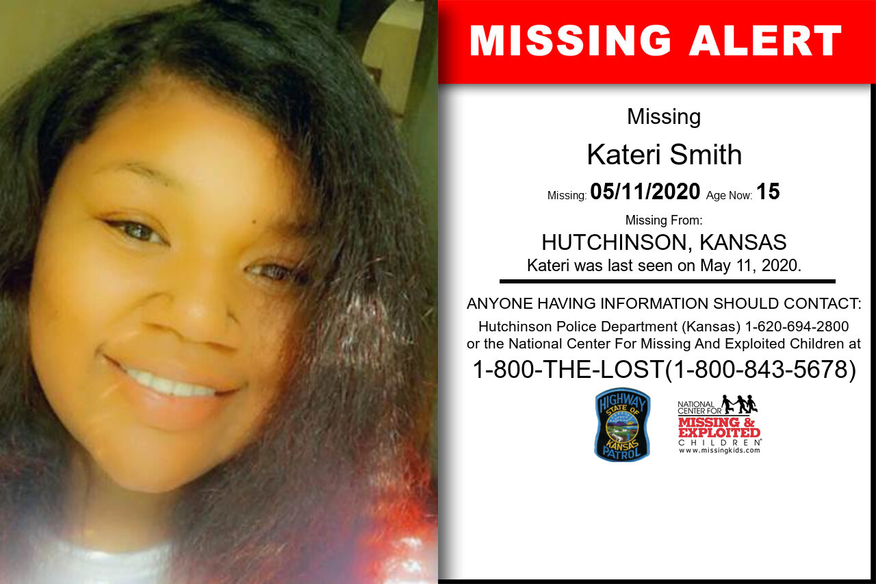 Kateri_Smith missing in Kansas