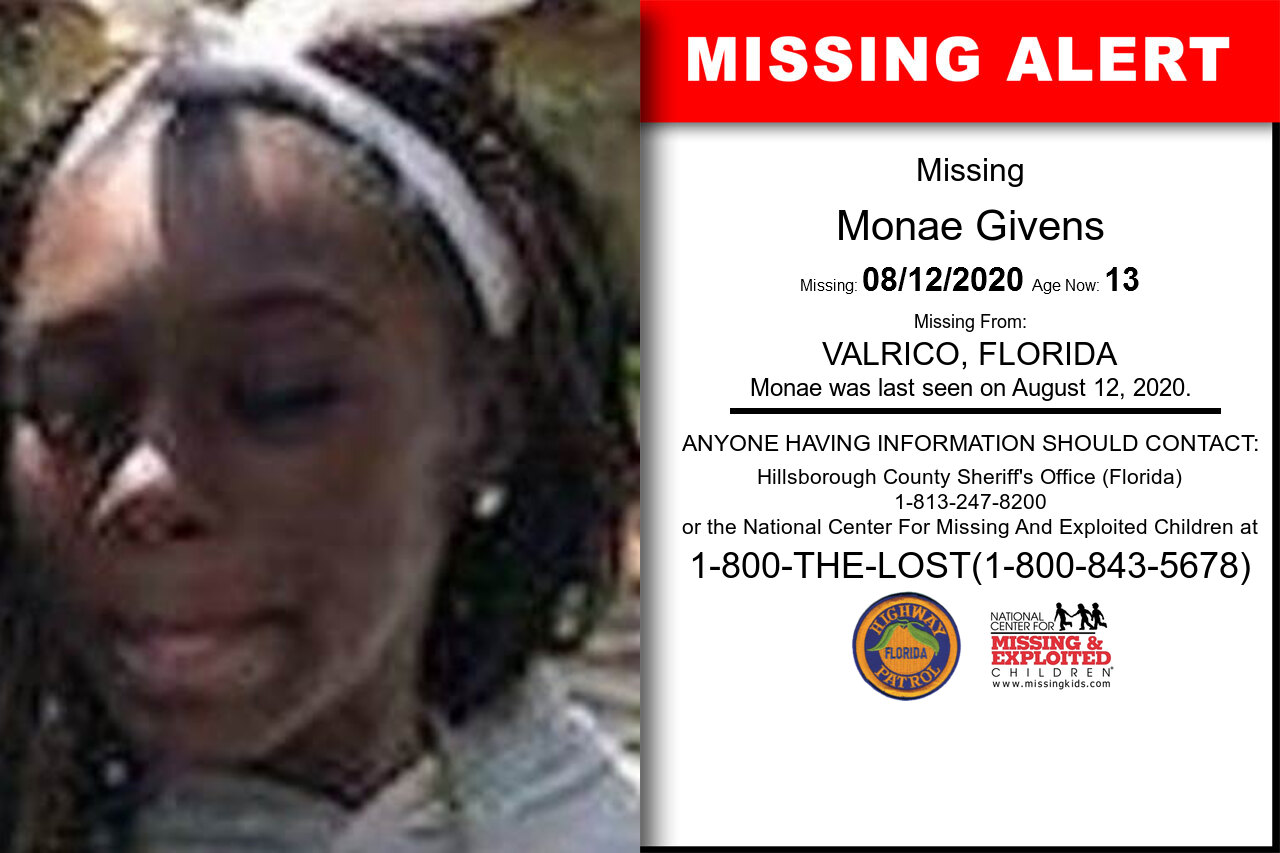 Monae_Givens missing in Florida