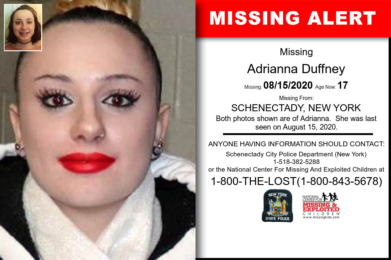 Adrianna_Duffney missing in New_York