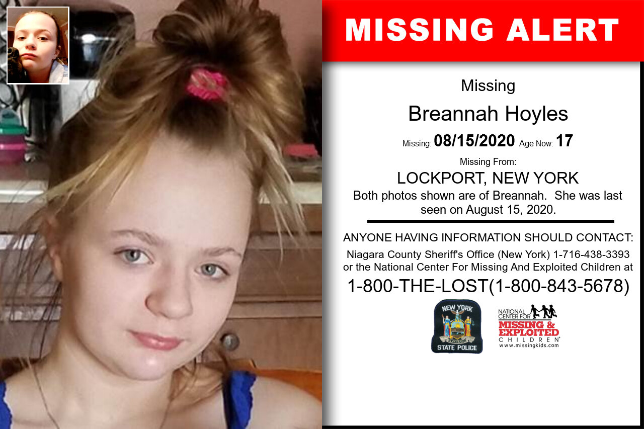Breannah_Hoyles missing in New_York