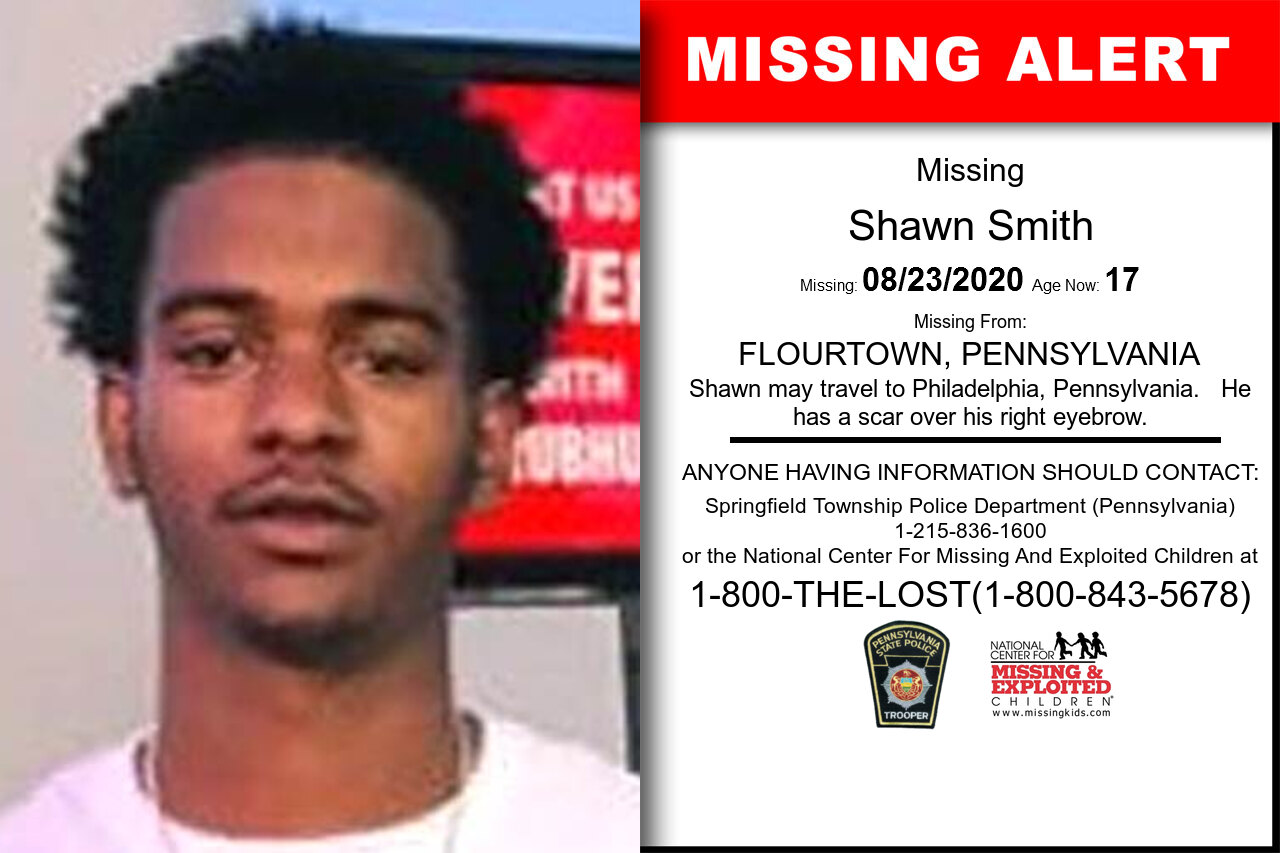 Shawn_Smith missing in Pennsylvania