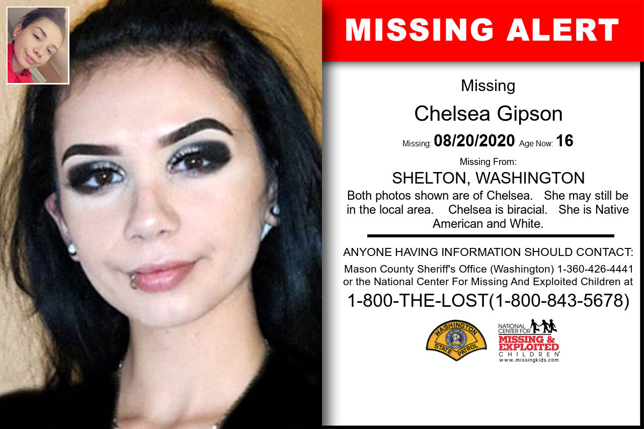 Chelsea_Gipson missing in Washington