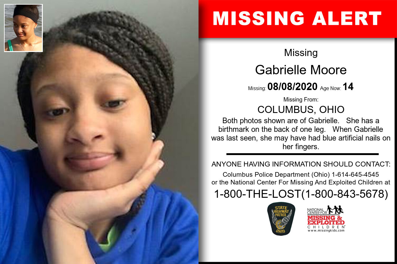 Gabrielle_Moore missing in Ohio
