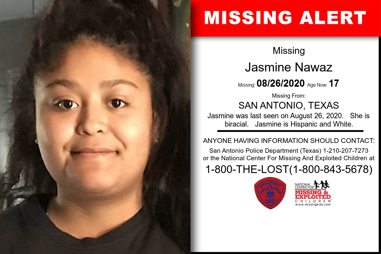 Jasmine_Nawaz missing in Texas