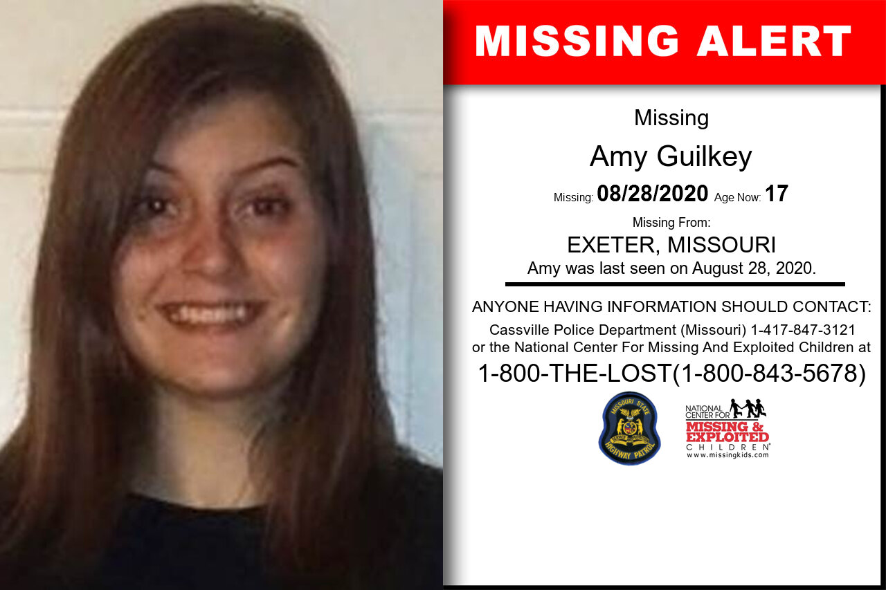 Amy_Guilkey missing in Missouri