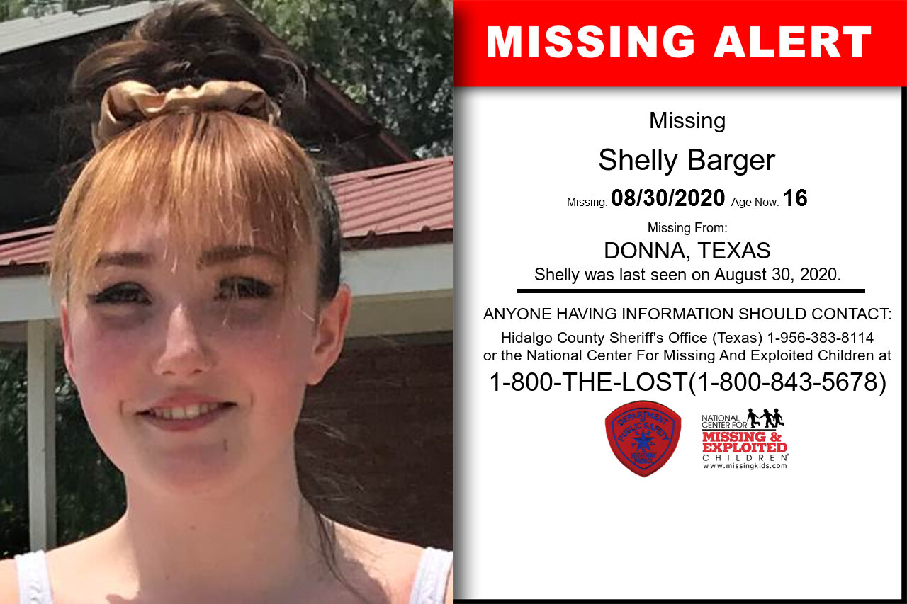 Shelly_Barger missing in Texas