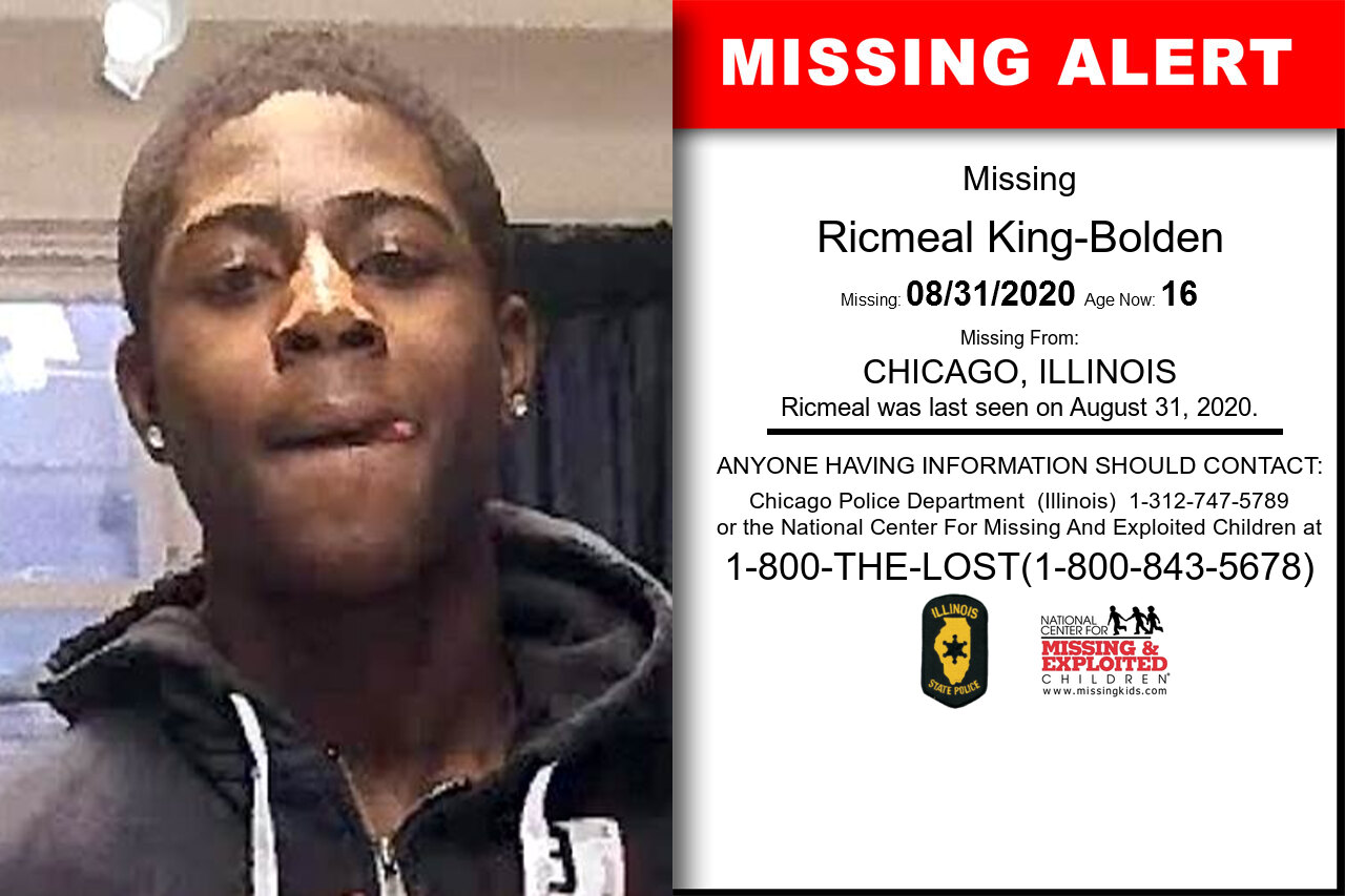 Ricmeal_King-Bolden missing in Illinois
