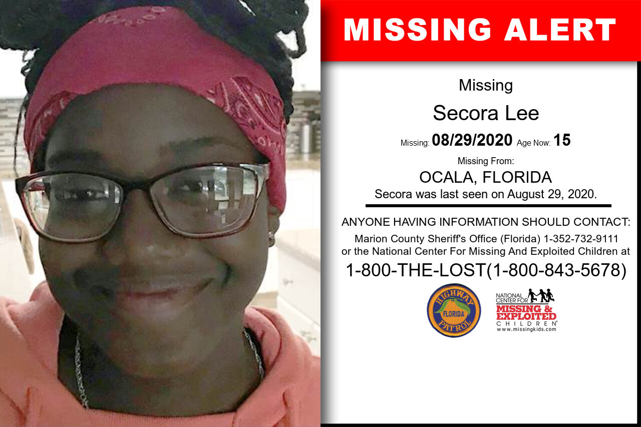 Secora_Lee missing in Florida