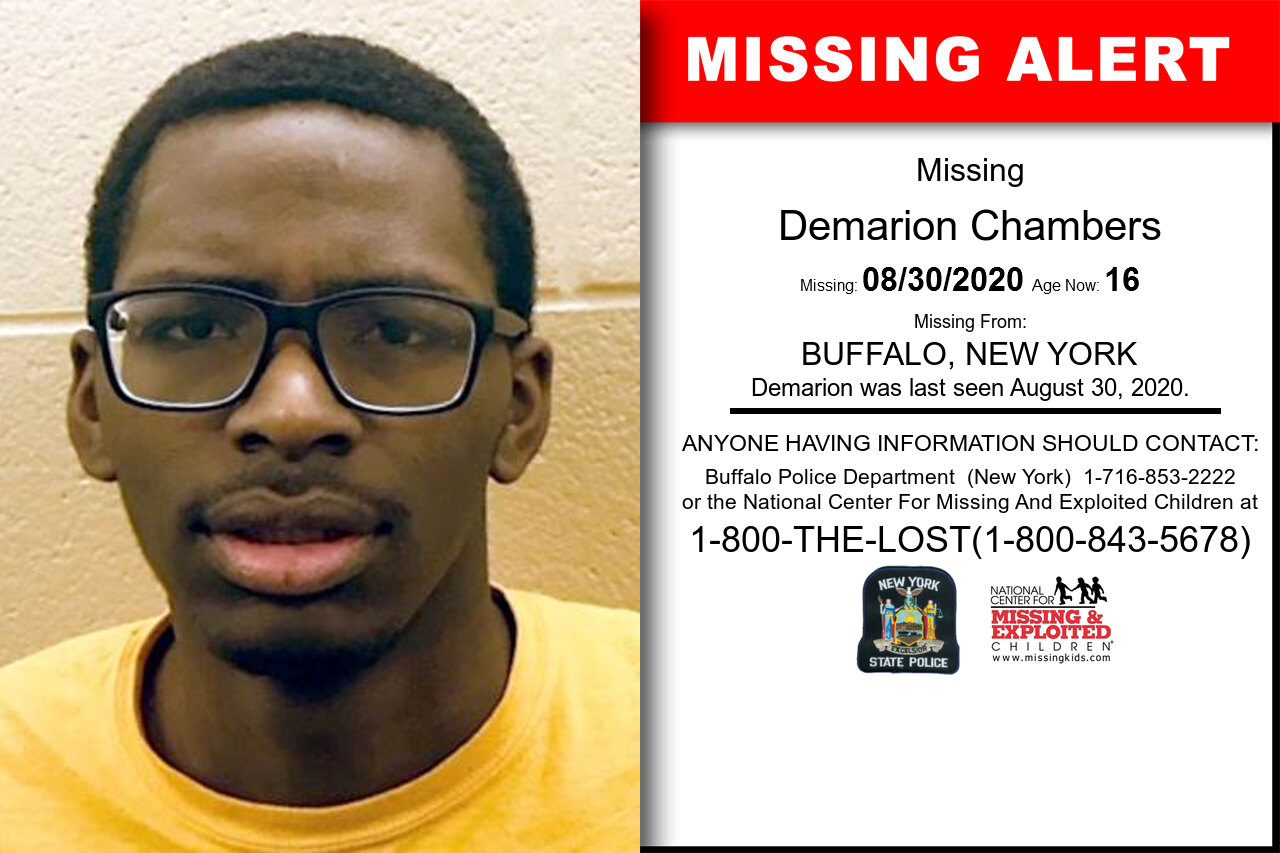 Demarion_Chambers missing in New_York