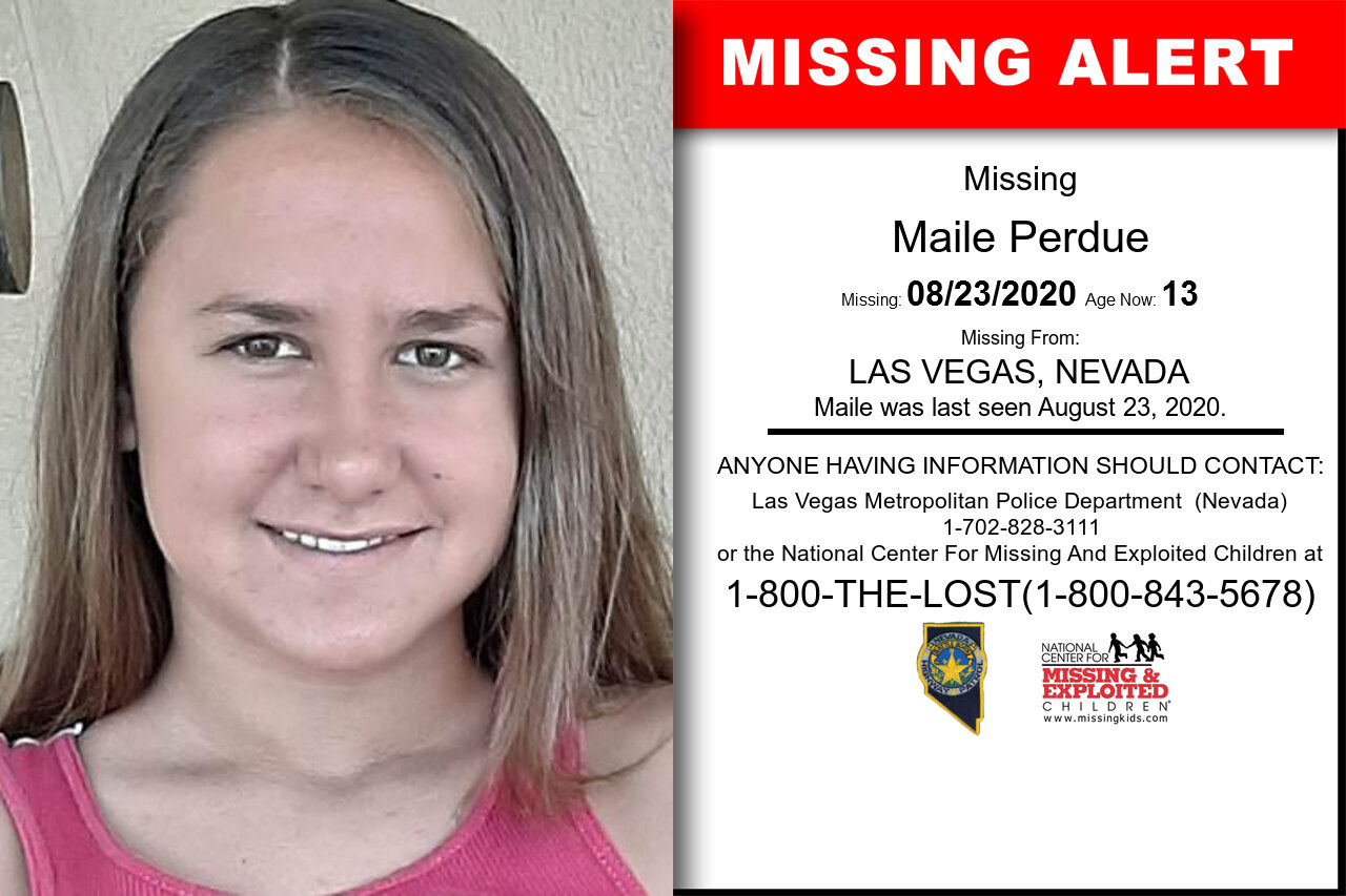 Maile_Perdue missing in Nevada