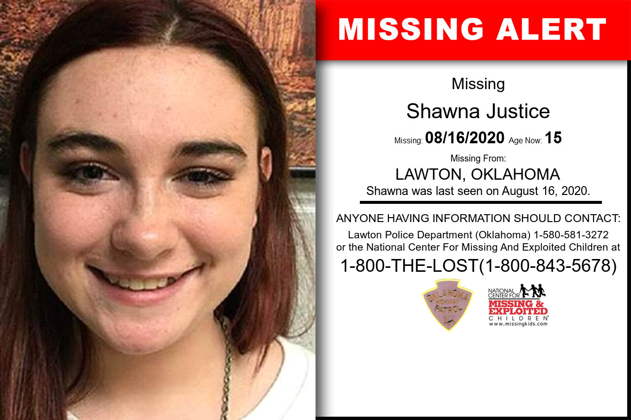 Shawna_Justice missing in Oklahoma