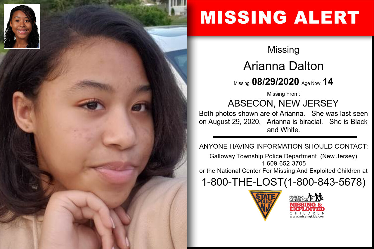 Arianna_Dalton missing in New_Jersey