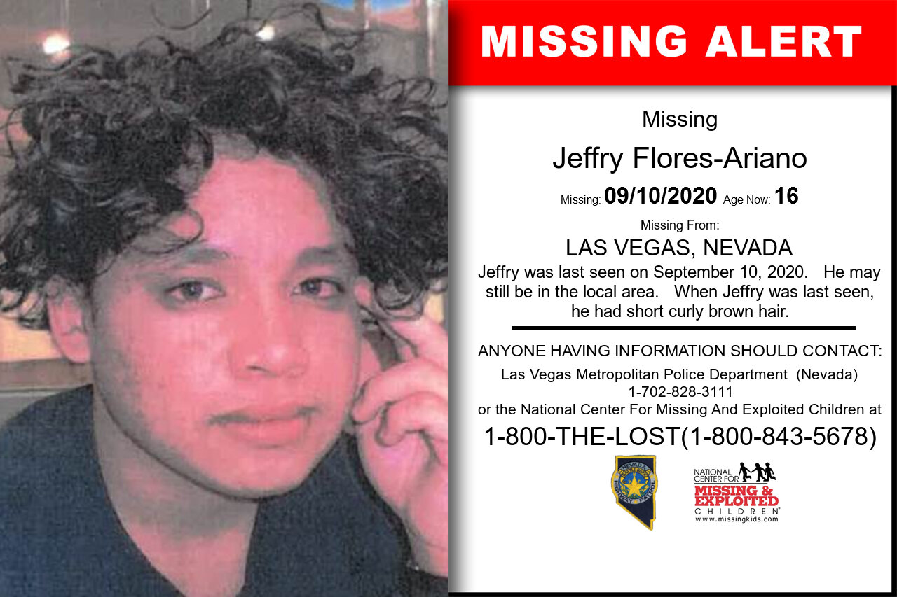 Jeffry_Flores-Ariano missing in Nevada